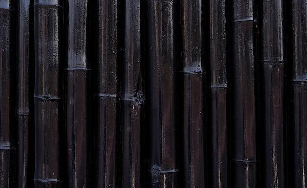 Peinture de bambou noir abstrait
