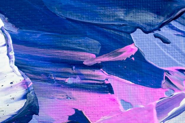 Peinture bleue fond texturé art expérimental bricolage esthétique