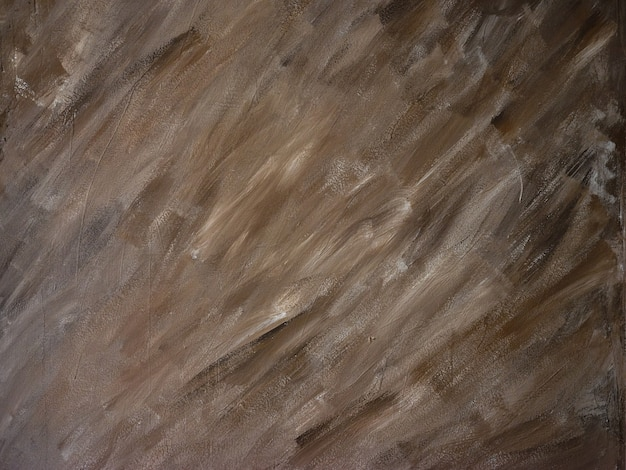 Peinture brune sur le mur
