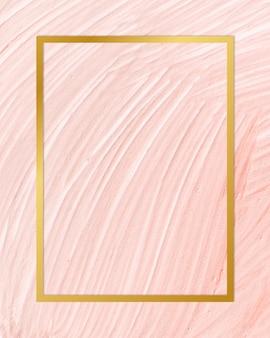 Peinture cadre de toile de fond de texture