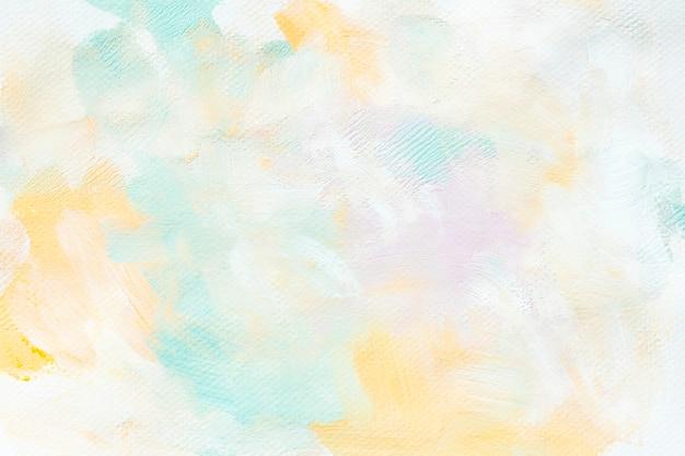 Peinture colorée sur une toile