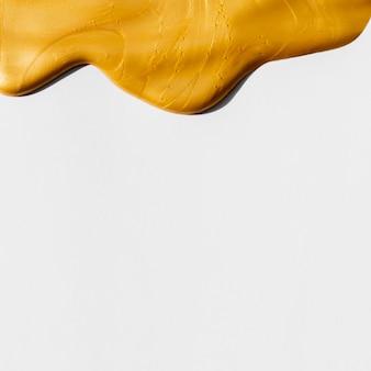 Peinture de composition d'or épaisse et espace de copie