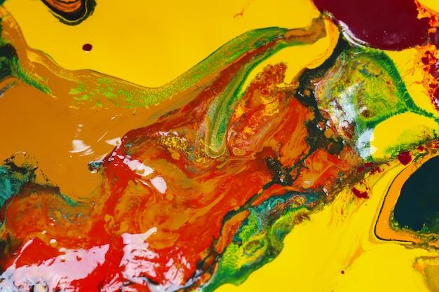 La peinture en couleur peut être utilisée comme un fond branché pour des affiches, des cartes, des invitations et des fonds d'écran.