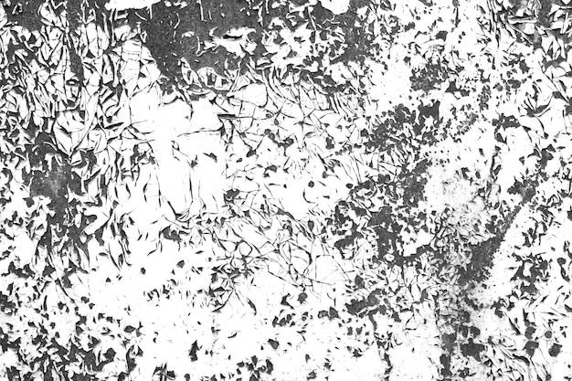 Peinture en détresse contraste texture grunge noir et blanc
