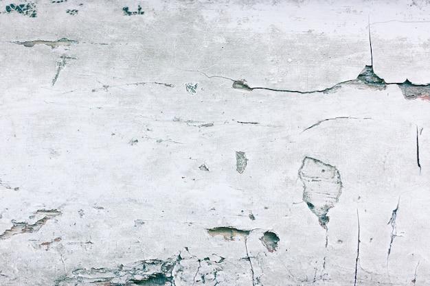 Peinture fissurée