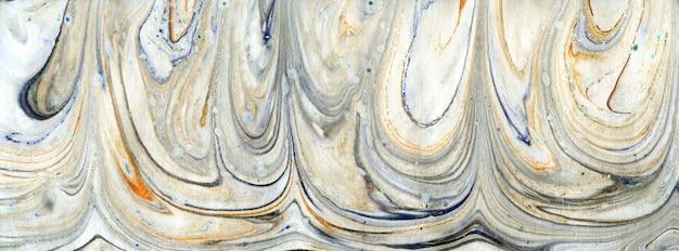 Peinture à l'huile abstraite et chaotique.
