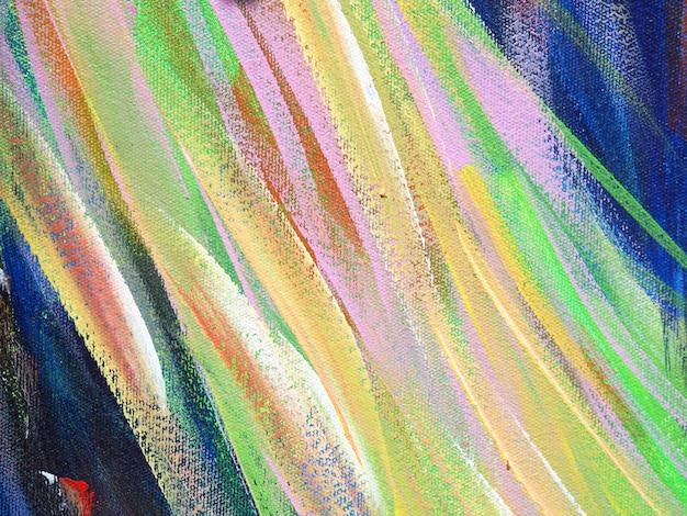 Peinture à l'huile coloré pinceau avc splash drop couleurs douces abstrait et la texture.