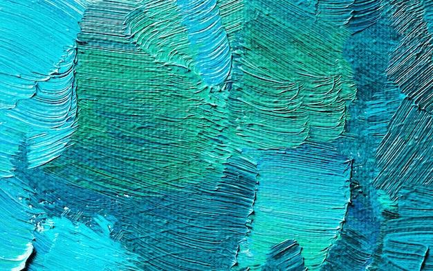 Peinture à l'huile dessinée à la main. fond d'art abstrait. texture de peinture à l'huile