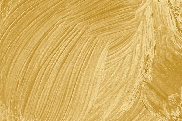 Peinture à l'huile dorée