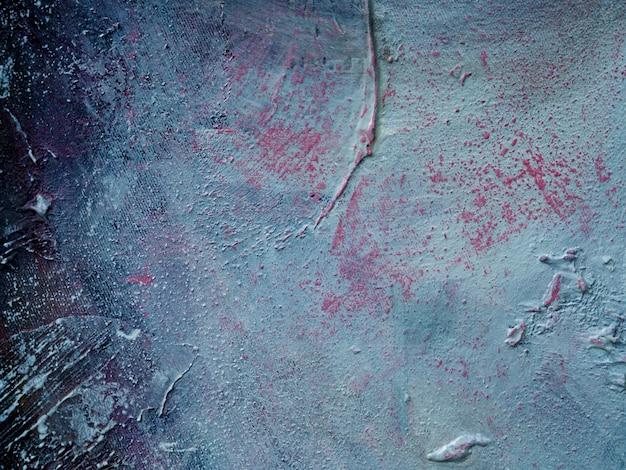 Peinture à l'huile sur toile abstrait avec texture.
