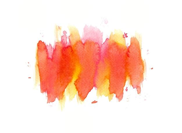 Peinture à la main art aquarelle coloré
