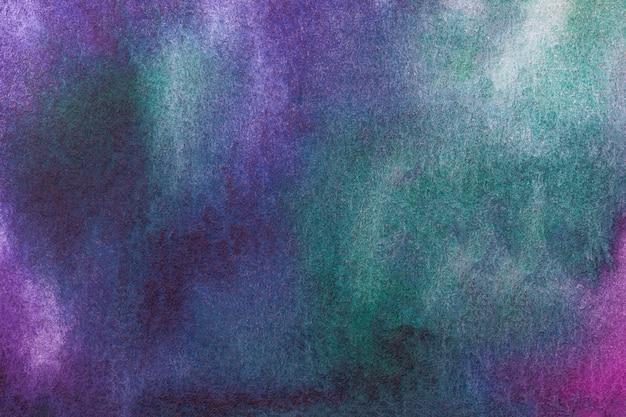 Peinture multicolore sur toile