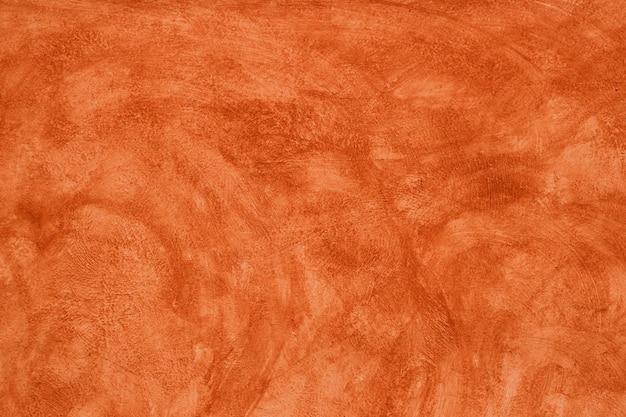 Peinture murale vieillie grunge orange marron