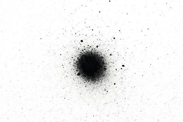 Peinture noire en aérosol