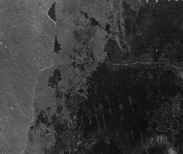 Peinture noire sur le mur de ciment