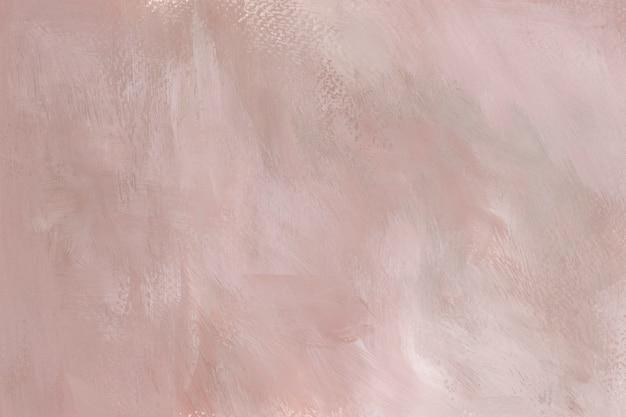Peinture rose sur une toile