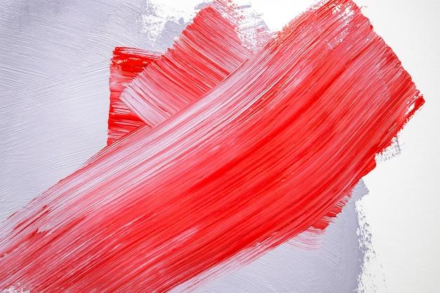 Peinture Rouge Et Grise Sur Le Mur Photo gratuit