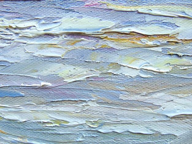 Peinture texture acrylique