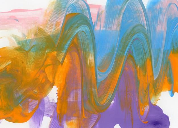 Peinture de vagues