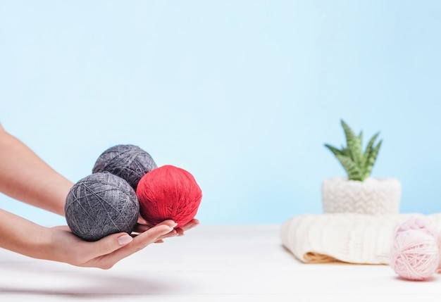 Les pelotes de laine