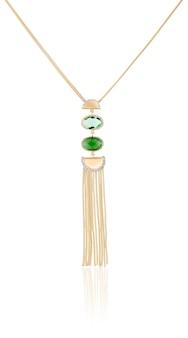 Pendentif en or pour femmes élégantes. bijoux de mode pour femmes. le meilleur cadeau pour noël.