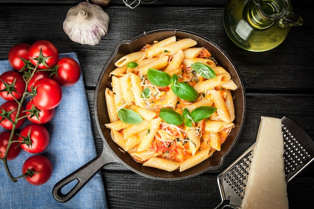 Penne traditionnelle