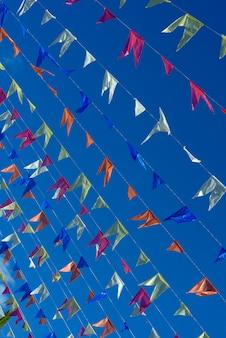 Pennons décoratifs de festas juninas