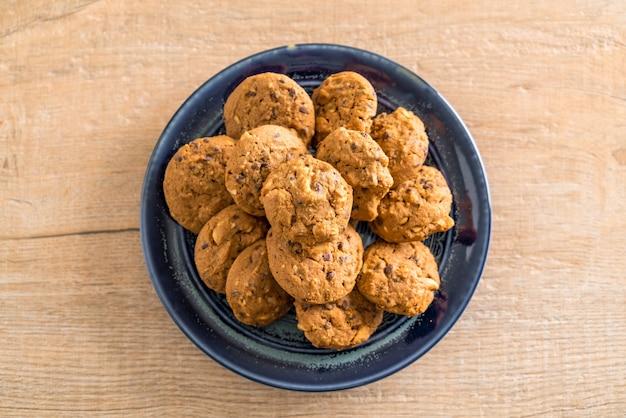 Pépites de chocolat et biscuits aux noix de cajou