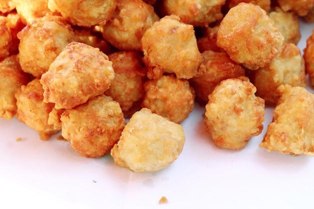 Pépites frites au street food