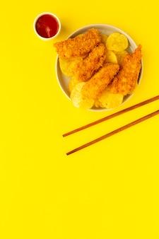 Pépites de poulet maison battues avec du panko