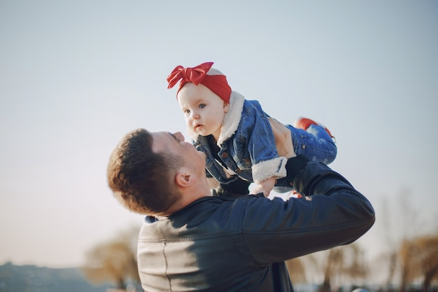 Père avec fille