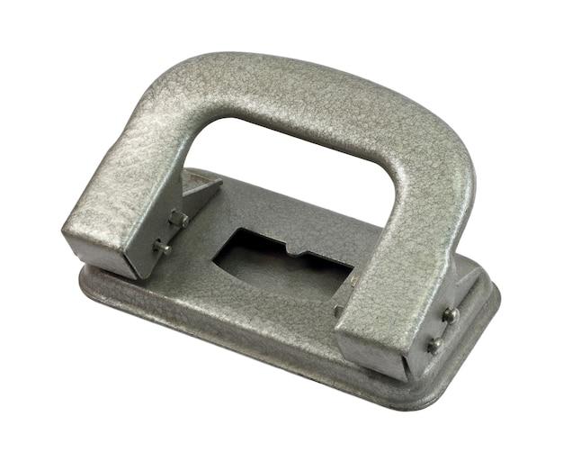 Perforateur en métal vintage isolé