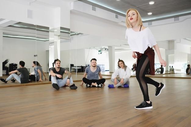 Performance de danseur hip-hop