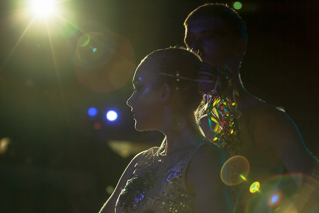 Performances au cirque