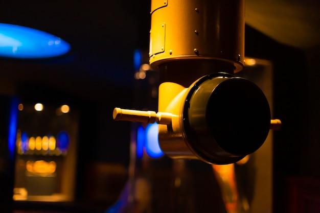 Périscope sous-marin au musée de la technologie.