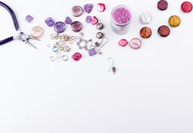 Perles pour la fabrication de bijoux