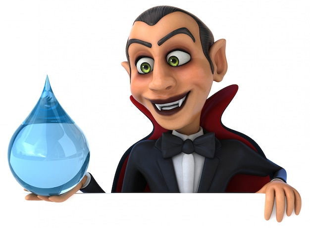 Personnage vampire 3d