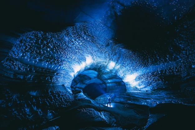 Personne à l'intérieur de la grotte