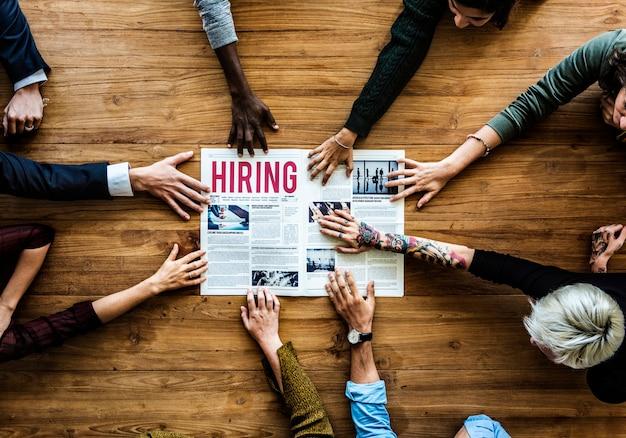 Personnes recherchant une offre d'emploi