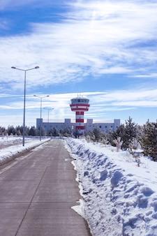 Petit aéroport de kars - turquie
