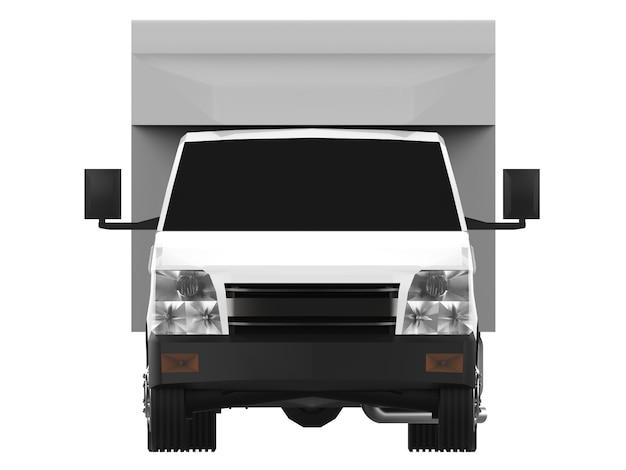 Petit camion blanc