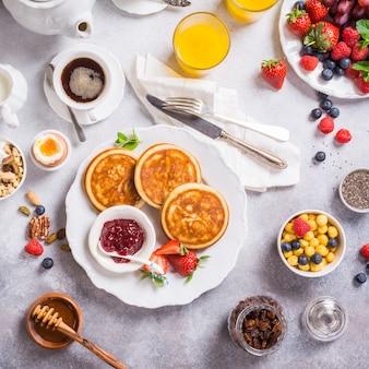 Petit déjeuner équilibré