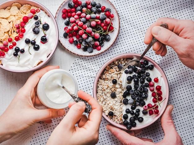 Petit déjeuner festif et sain pour vos proches