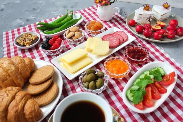 Petit déjeuner turc