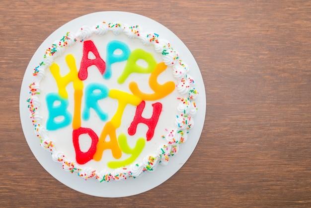 Petit gâteau salutation rouge bonbon heureux