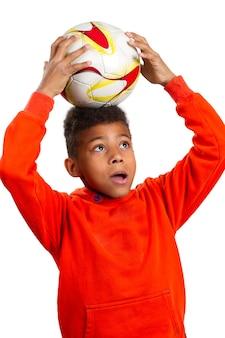 Petit joueur de football