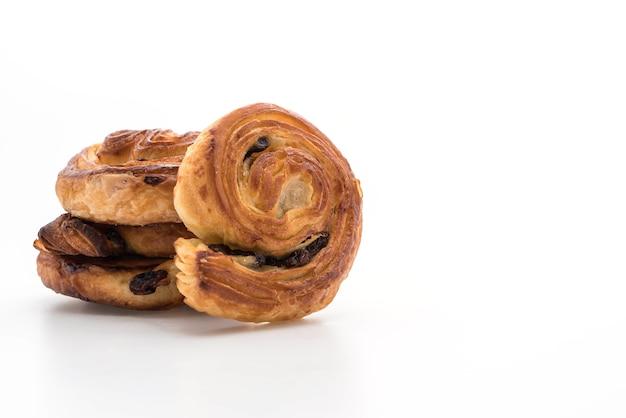 Petit pain aux raisins et à la cannelle
