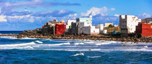 Petit village pittoresque de san andres dans la partie nord de la grande canarie, îles canaries