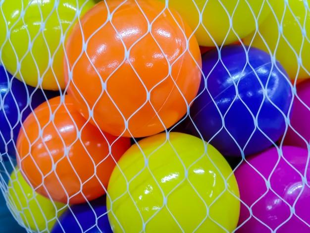 Petite balle avec multicolore