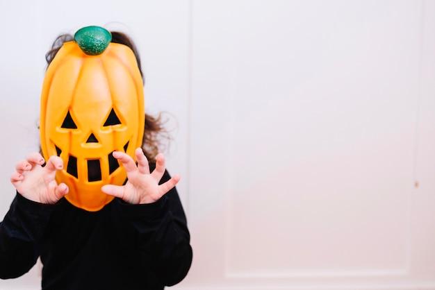 Petite citrouille effrayante